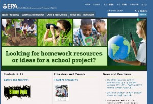 Link to EPA Kids Center