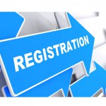 Registration on a Blue Arrow