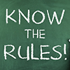 Know the Rules! on a Blackboard