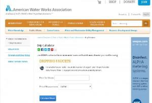 AWWA website page